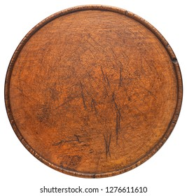 Old wooden board isolated