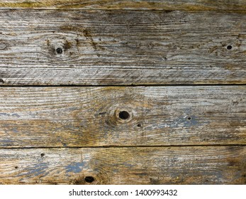 An old wooden board with the paint falling of and with room for your own text suitable as a background or advertisement