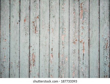 The old wooden boards off white paint
