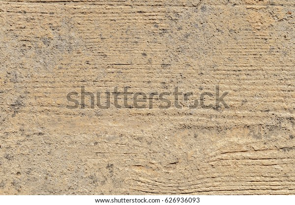 old wooden boards with signs scuffs