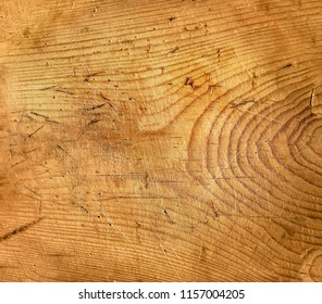 Old wooden cutting board texture