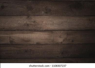 old wooden dark background