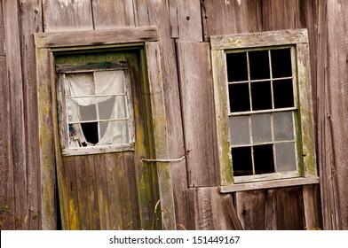 Old Wooden Door and Window