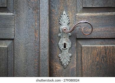 Old Door Handle Stock Images, Royalty-Free Images & Vectors ...