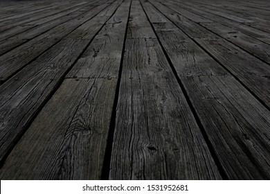 Old wooden floor. Wooden backgroud