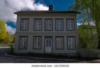Old wooden house on Lillehammer, Norway