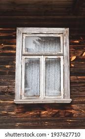 Old wooden house in Podlasie region
