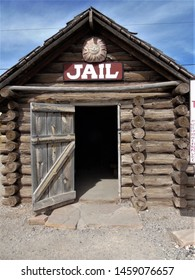 old wooden jail from arround 1860