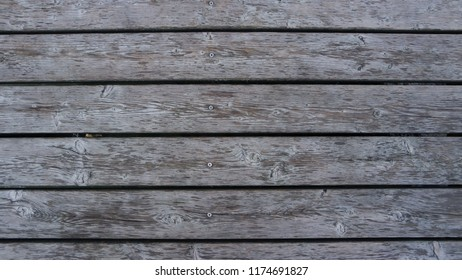 Old wooden jetty deck background lumber pattern