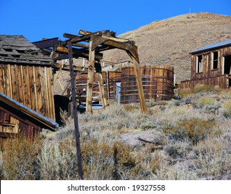 old wooden structures
