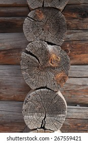Old wooden surface. Close up.