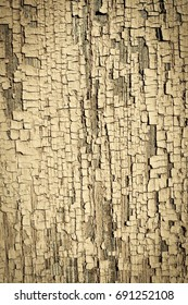 Old wooden texture painted wall