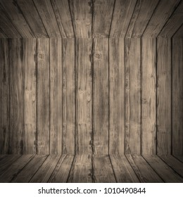 Old wooden wall background,Web Banner