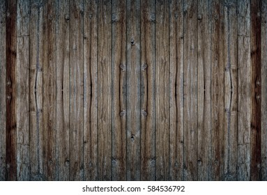 Old wooden wall pale