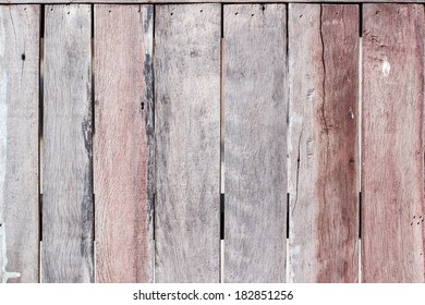 Old wooden walls