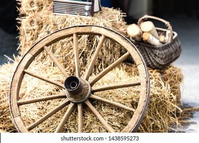 Cart Wheels Axles Images, Stock Photos & Vectors | Shutterstock