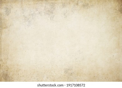Old worn blank parchment paper texrture or background