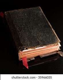 Old worn family Bible
