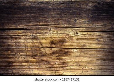 Old worn wood board background, texture