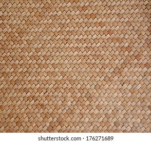 Old woven wood pattern