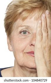 old wrinkled face