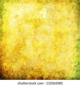 old yellow golden grunge background texture