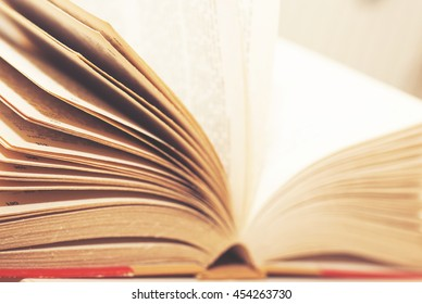 Old yellow leaves books