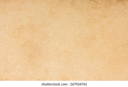 Old Yellow Paper Vintage Texture Background For Artwork