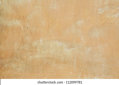 Old  yellow  stucco wall texture background