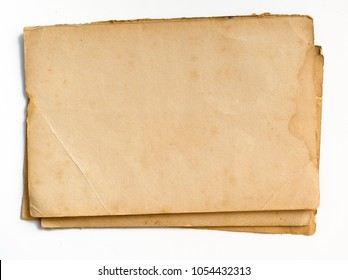 Old yellowed paper as a background