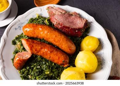 charcuterie d'oldenburg avec saucisse de pinkel et kassler