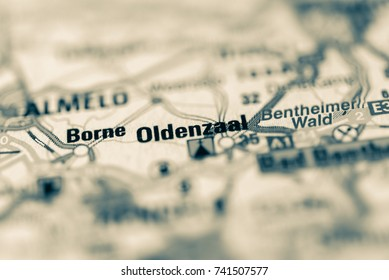Oldenzaal on map.