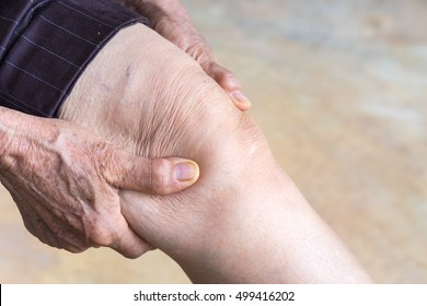 older person, Knee Pain