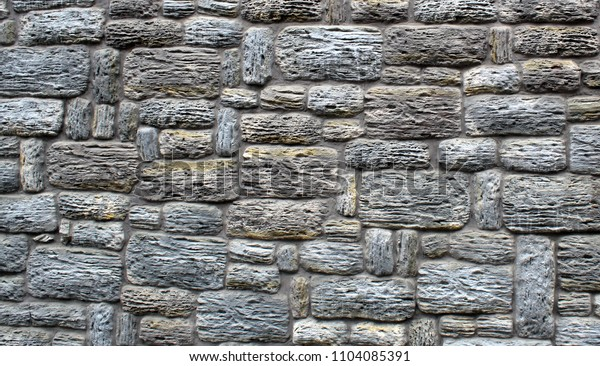 Oldes stone rock brick wall texture background
