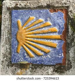 "The oldest Camino de Santiago in Spain the ""Camino Primitivo"" leading from Oviedo to Santiago de Compostela"