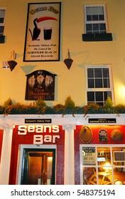 Oldest pubs of Ireland in Athlone town, Northern Ireland, November 2007