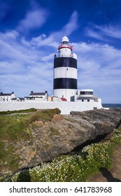 the oldest working lighthouse in the world, Churchtown, Hook Head, Co Wexford