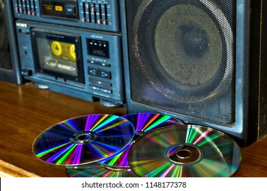 Old-fashioned audio is rarely used now.Radio Cassette is obsolete with Cds.Audio in the 80s,2000s.