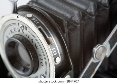 Old-fashioned bellows camera (note, company Kershaw no longer exists)