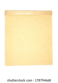 old-fashioned writing pad