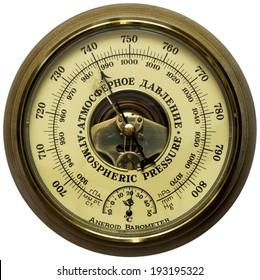 Oldstyle aneroid barometer