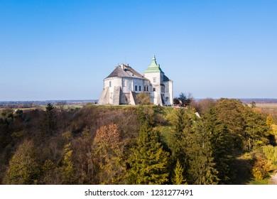 The Oleskiy Castle, located in Lviv Oblast, Ukraine