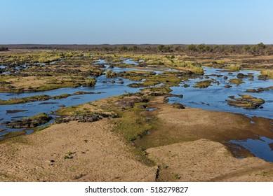 Olifants River in the Kruger National Park, South Africa