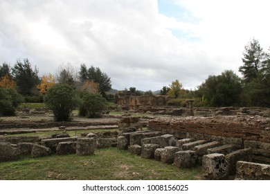Olimpia, in Greece. Site of original olympic games