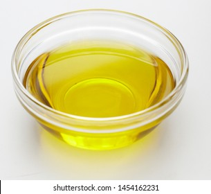 Olive oil isolated white background