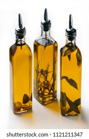 olive oil with natural herb flavors