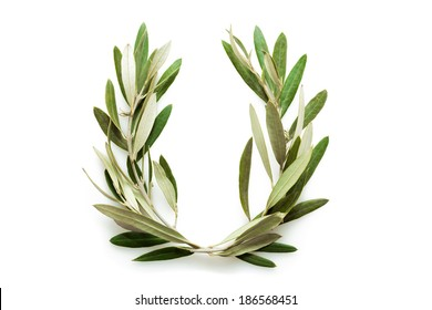 The olive wreath also known as kotinos was the prize for the winner at the ancient Olympic Games