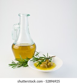 Olive's oil and rosemary