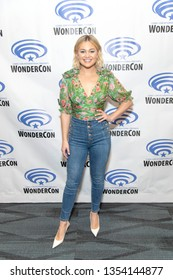 """Olivia Holt attends 2019 WonderCon - Marvel's """"Cloak and Dagger"""" Press Room, Anaheim, CA on March 29th, 2019"""