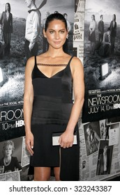 """Olivia Munn at the HBO's Season 2 Premiere Of """"The Newsroom"""" held at the Paramount Studios in Hollywood, USA on July 10, 2013."""